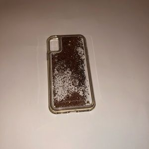 Used Moving Glitter CaseMate IPhone X Case